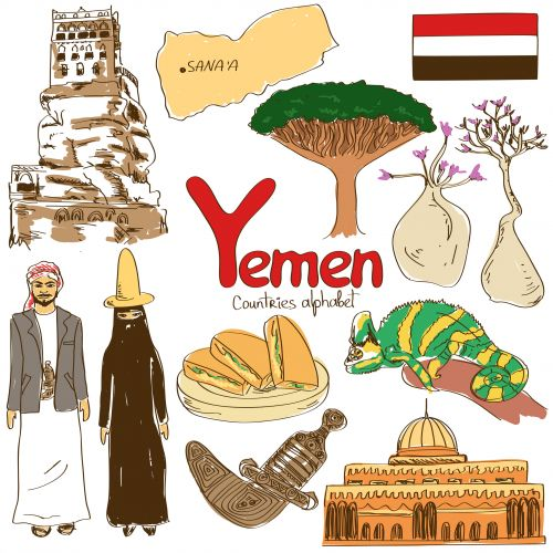 'Y' is for Yemen with this next alphabetical countries free worksheet! #Yemen #AsianCountries #Geography