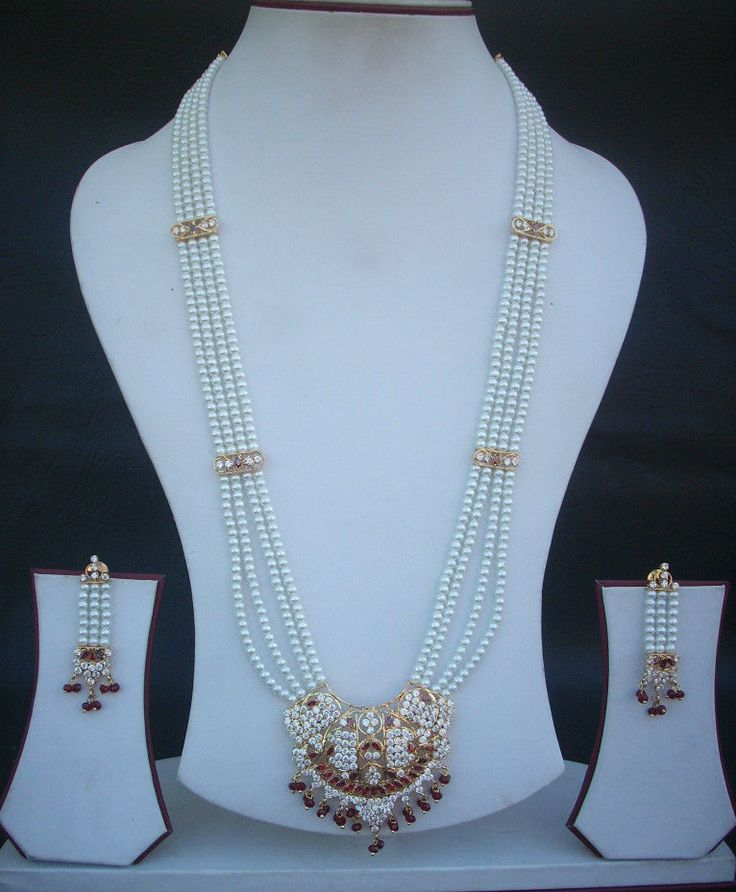 Indian Bridal Wedding Pearl Rani Haar Choker Necklace Sets: 17 Best Images About Jewellery On Pinterest