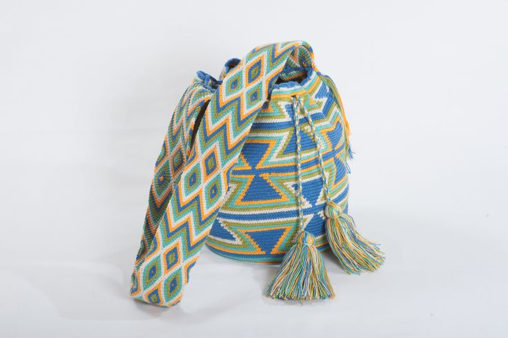 wayuu mochila bag at #stylewise #wayuu #mochila #beach_bag