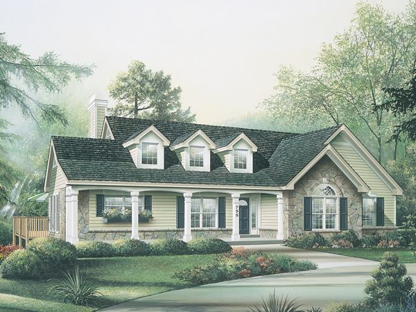 Maple Hill Country Ranch Home House Plans Home And We