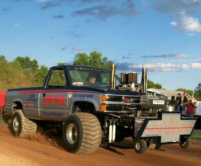 how to build a pulling truck
