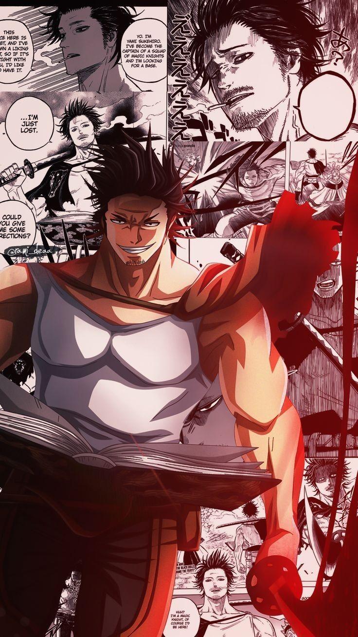 Pin Shapeless Boy Black Clover Anime Black Bull Anime Wallpaper