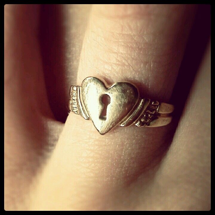 purity ring. the key is given to the parents to then be given to the groom…