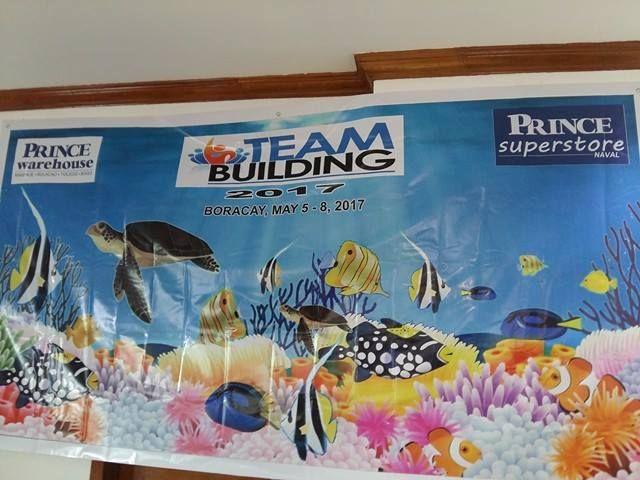 Prince Warehouse 25th Annversary team building event in Boracay Island, Malay, Aklan, Philippines
