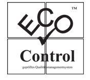 We are Eco Control certified.  ECO CONTROL is a seal that is intended to reflect the very high standards the company demands of itself. In addition to questions about the type, origins and processing of raw materials, this seal includes far-reaching aspects such as social responsibility and sustainability in all areas of the company. The criteria of ECO CONTROL therefore go much further than the usual natural cosmetics certifications in numerous respects.