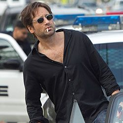 Hank Moody - fictional, but awesome nonetheless.