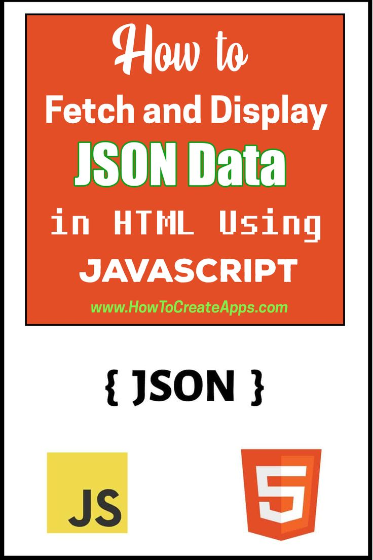 How to Fetch and Display JSON Data in HTML Using