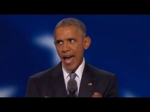 President Obama at the DNC... - VIDEO - http://holesinthefoam.us/president-obama-dnc-video/