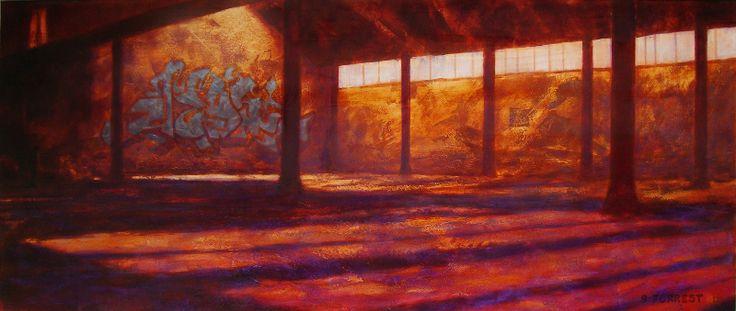 JedyChan, 2012 - 60x150cm - kr28,000 on Stewart Forrest