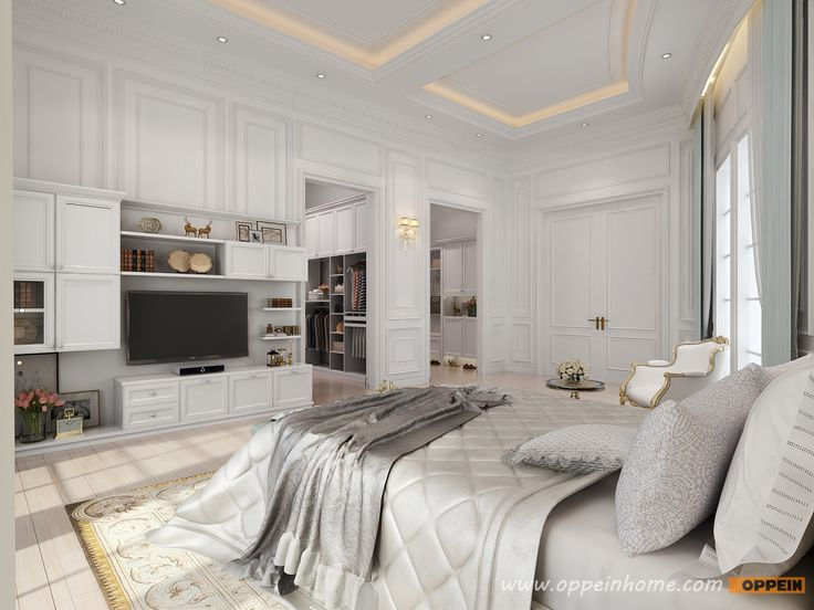 White TV Cabinets Master Bedroom