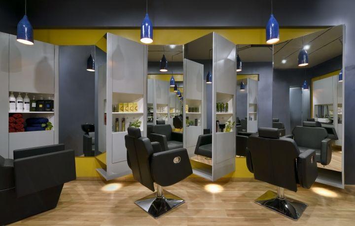 Cutting Edge Unisex hair studio by The Crossboundaries, Vadodara – India » Retail Design Blog