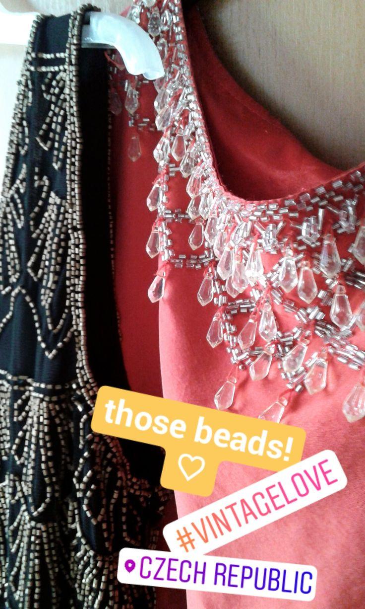 Bead embroidery can make everything a ton prettier. via Instagram stories of @quaintrelle.georgiana  https://www.instagram.com/quaintrelle.georgiana/ | Georgiana Quaint