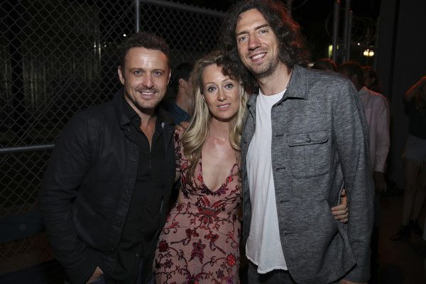 (L-R) Actor David Lyons, Lorien Haynes and singer Gary Lightbody attend OTHER…