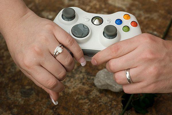 Video Game Wedding - Nintendo Wedding   Wedding Planning, Ideas & Etiquette   Bridal Guide Magazine