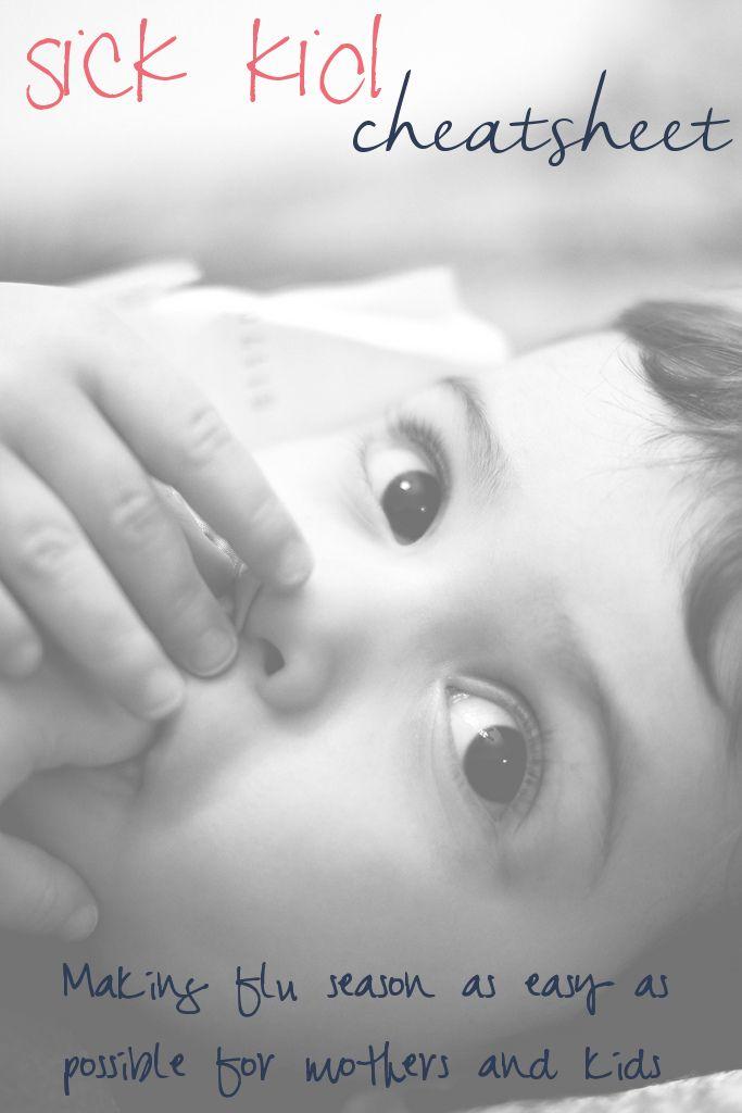 Sick Kid Cheatsheet | Aprons, Trainers, and Bibs