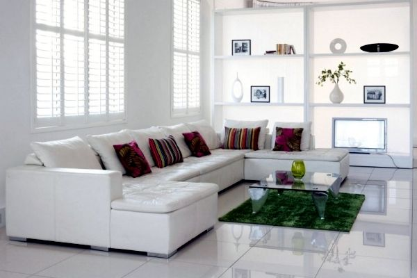 Living Room Decor, White Furniture For Living Room