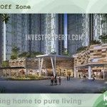 Drop off zone Akasa Pure Living BSD Apartment.