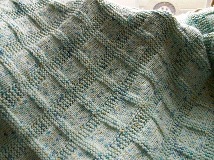 Sunny Baby Blanket ~ Free Pattern