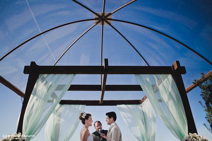 Casamento verde menta na praia - Berries and Love