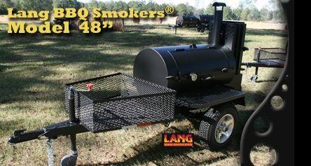 Lang BBQ Smokers® Cookers - Original Reverse Flow Design