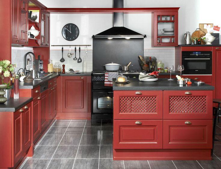 Ilot Central Lapeyre Cuisine Pinterest Lapeyre Ilot Central - Lapeyre meuble haut cuisine pour idees de deco de cuisine
