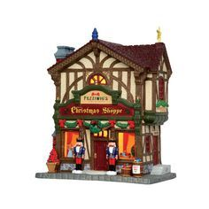 Lemax Village Collection Fezziwig's Christmas Shoppe #45742 - House of Holiday