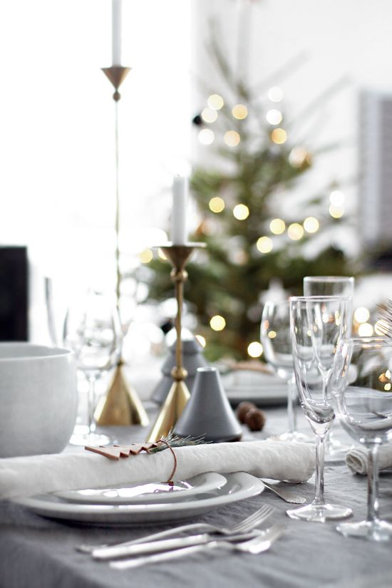 Table setting Christmas & 142 best Stylizimo - Table setting images on Pinterest | Interior ...