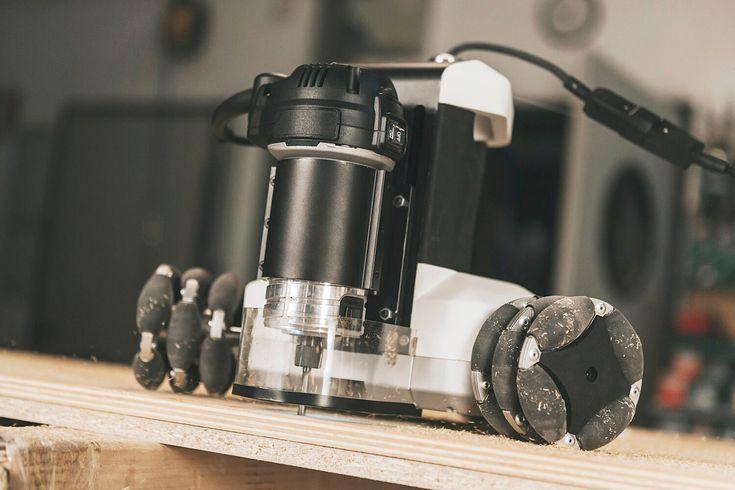 Meet Goliath — A Portable Robotic CNC