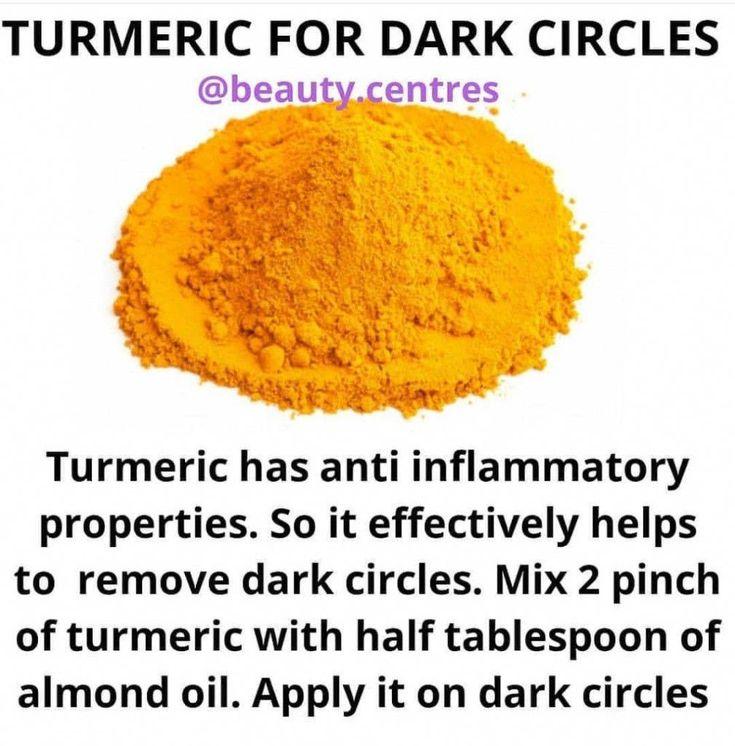 Skincare with Turmeric in 2020 | Dark circles, Turmeric ...