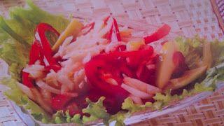 Sanatate cu pofta de viata: Retete sanatoase - Salata din varza alba cu ardei ...