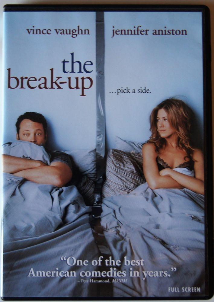 Vince Vaughn Barefoot >> The Break Up Dvd 2006 Full Frame Edition Jennifer