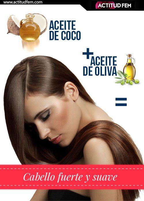 2 cucharadas de aceite de coco + 1 cucharada de aceite de oliva= Mascarilla repadora