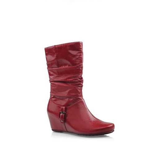 Warm up your winter with colour - Zensu Roger in Cherry Vintage