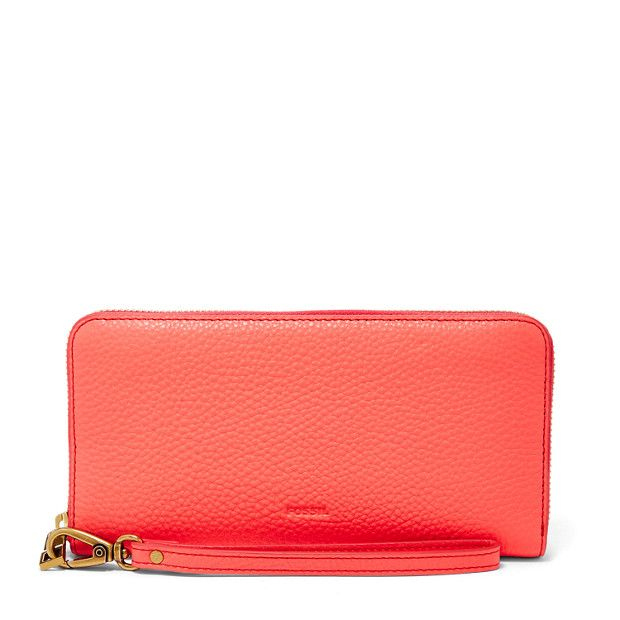 Leather Zip Around Wallet - Je taime by VIDA VIDA MQEkr