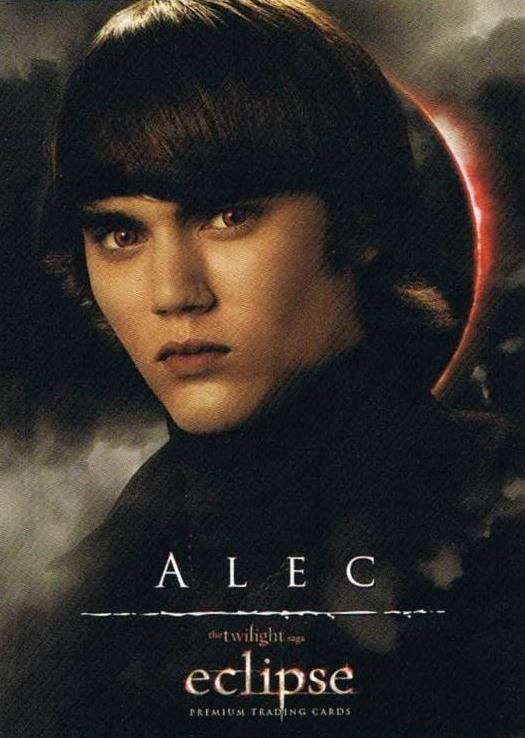 Alec Volturi - With his twin sister, Jane, are high ranking guards of the Volturi Coven. They are the Volturi's best offensive power. They can take down opponents regardless of size.  Alec possesses gift of sensory deprivation. He can completely cut off senses of multiple targets.