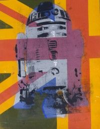 This union flag R2D2 is a one off and FOR SALE £30.00 http://traffordparsons.com/products-page/