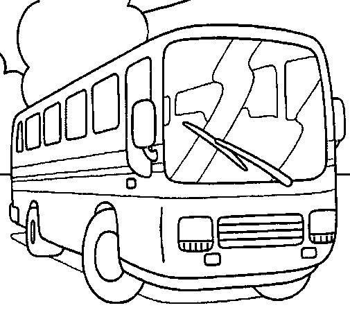 8 Best Public Transportation Coloring Pages Images On Pinterest