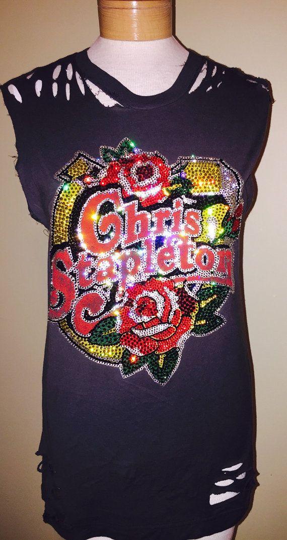 Custom Distressed Chris Stapleton Full On by StarStruckNashville