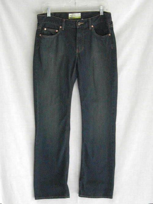 Old Navy Womens Boot Cut Low Waist Blue Jeans 8 32/32 #OldNavy #BootCut
