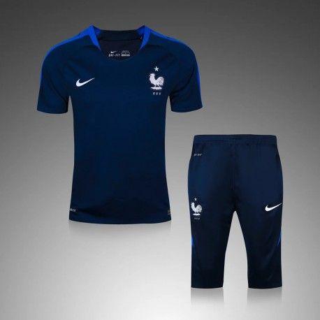 Maillot Training France Bleu