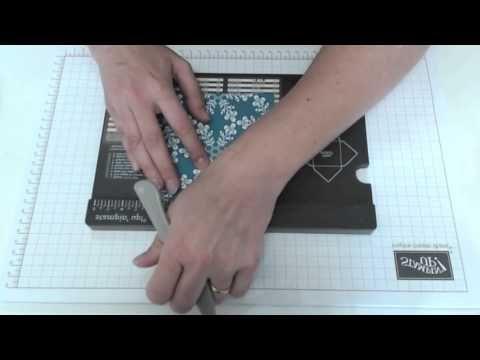 Verpackung für kleine Schoko-Kugeln - mit dem Envelope Punch Board - YouTube