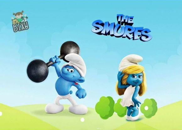 Jogo Americano Infantil -Smurf Robusto