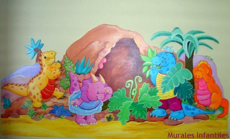 Mural para ni os murales infantiles pinterest murals - Murales para ninos ...