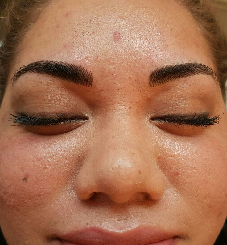Hairstroke Brow tattoo @covetbrows #thickbrows