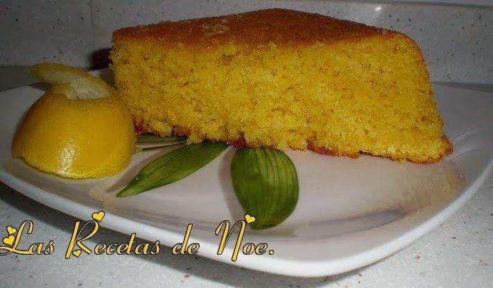 Bizcocho de almendra y limón