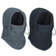 Esportes de Inverno térmica Velo Balaclava Hat Com Capuz Neck Warmer Máscara…