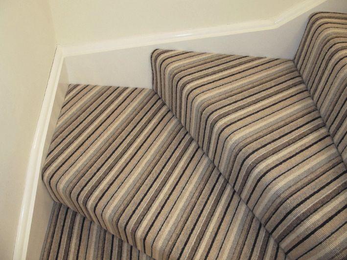 Stripy stairs turn