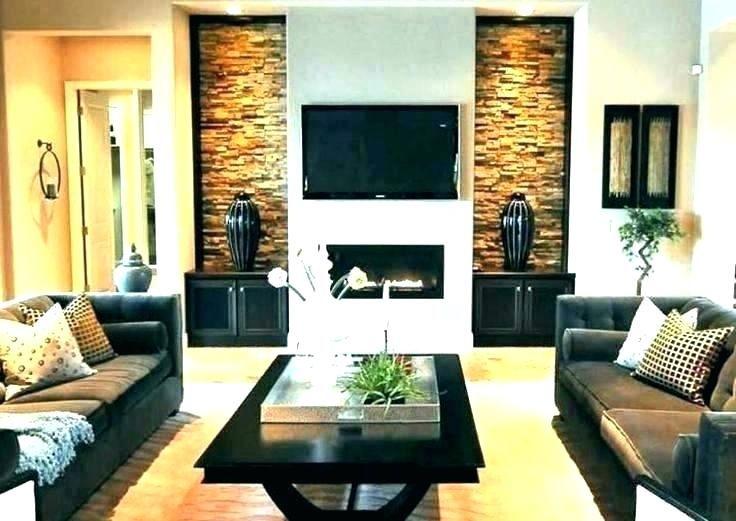 Tv And Fireplace Wall Fireplace Wall And Fireplace On Same Wall What Fireplace Wall Contemporary Living Room Design Best Living Room Design Living Room Designs