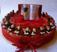 Torta bomboniera Laureato con Libro