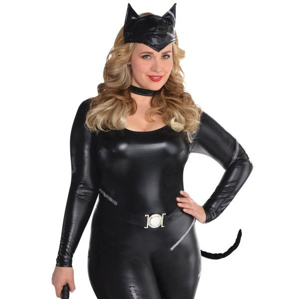 we move many styles with plus size women's costumes black cat with